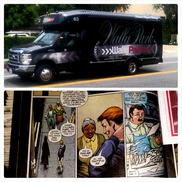 I work near an airport. Every time I see a Wally Park shuttle, I think of this scene. [K]
