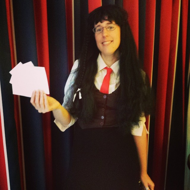 The Paper! Yomiko Readman from Read or Die
