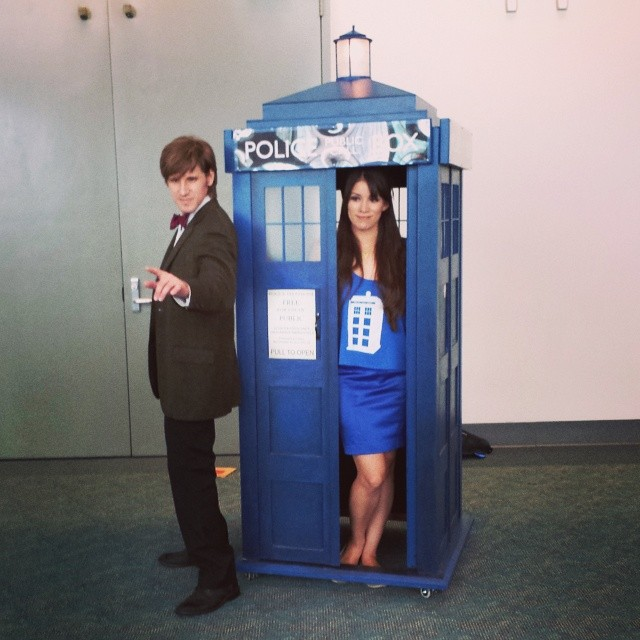 That TARDIS really moves around