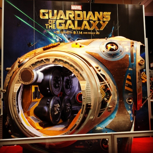 Guardians of the Galaxy ship