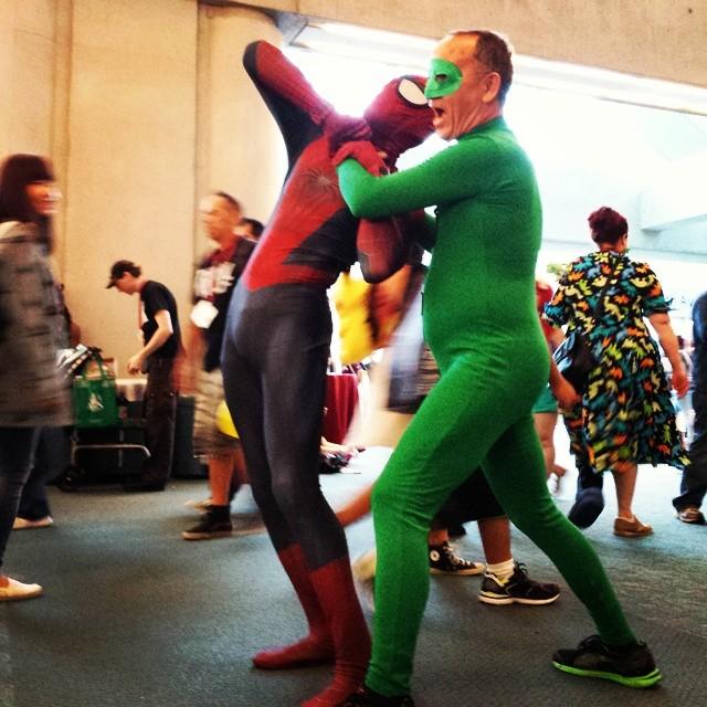 Spider-Mam vs the Riddler