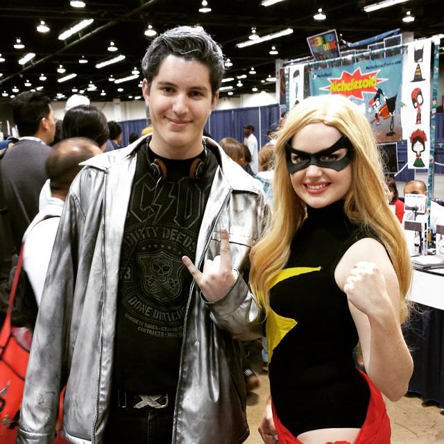 Quicksilver & Ms Marvel at