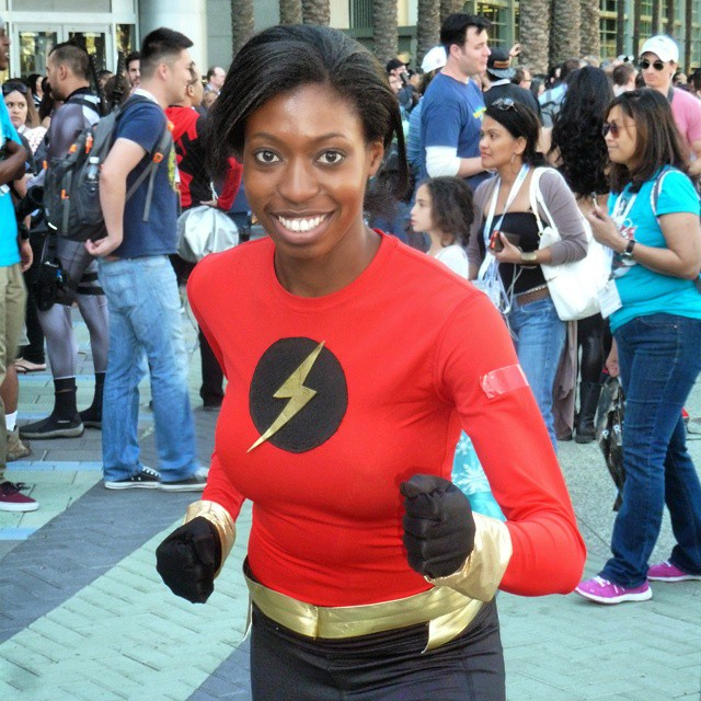 Justice League Beyond Flash Danica Williams at