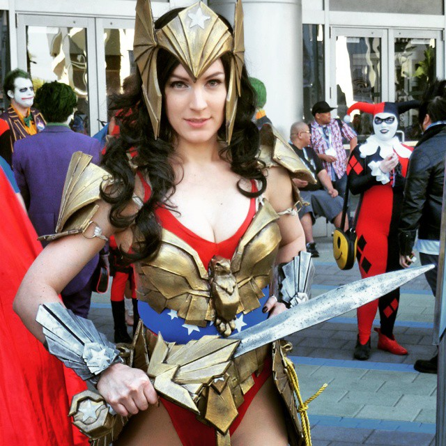 Armored Wonder Woman, Saturday at