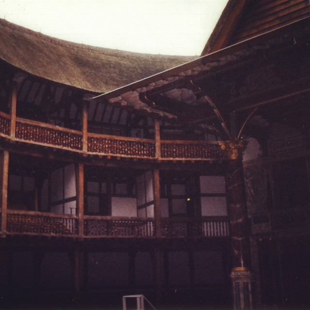 #TBT #Shakespeare's Globe Theatre in 1999, or rather a reconstruction of it. According to the tour guide, they needed a special permit to allow a thatch roof in London, since they'd been banned as fire hazards after the great fire in 1666. Also, it's a few blocks away from the original location, which was occupied at the time the theater was rebuilt in the 1990s. #theatre #london #globetheatre  #ThrowbackThursday