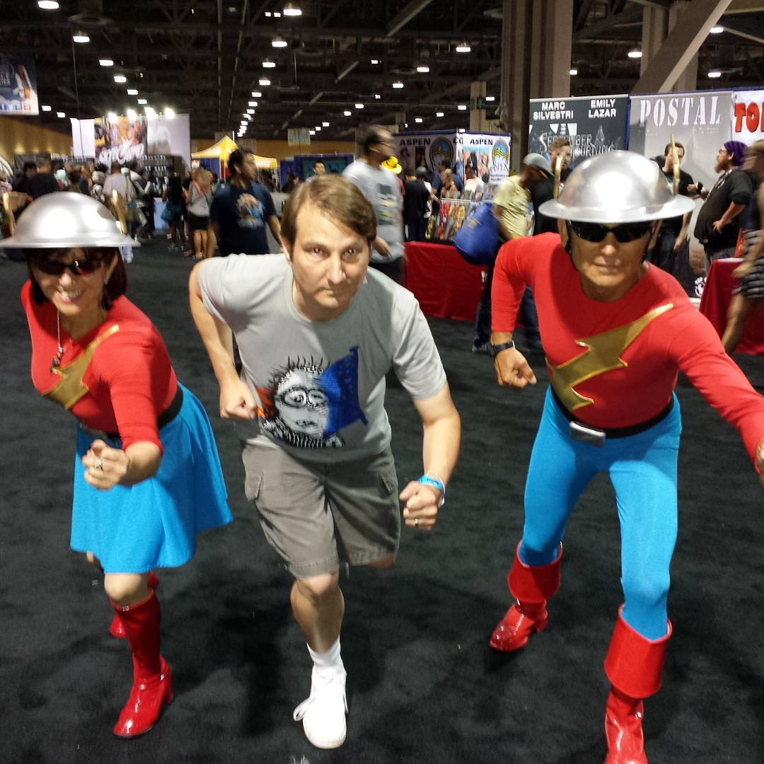 Running with the Flashes at @longbeach_cc