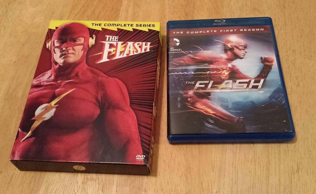 Flash of two eras