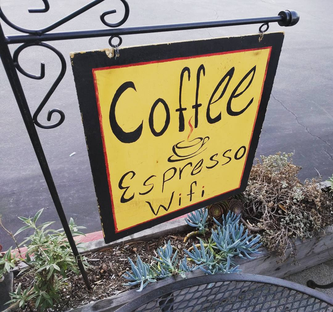 The essentials.  #coffee #wifi #signs