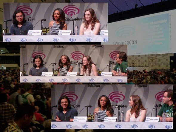 Flash panel at last year's @wondercon. Keep an eye out for pics from this year's con