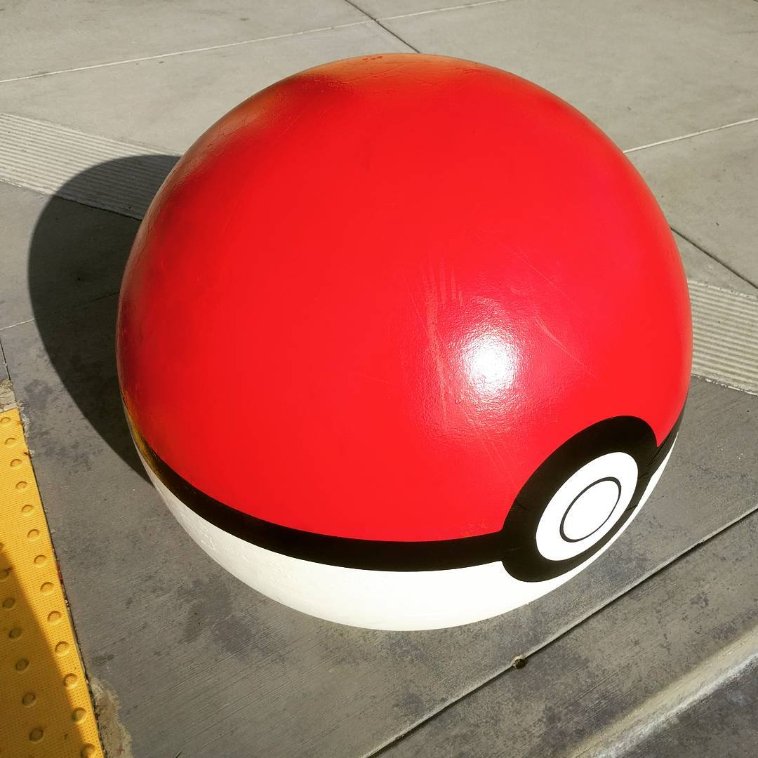 Apparently the Target Pokéball isn't a one-off. I wonder if it's regional or chain-wide. #pokemongo #target #pokemon