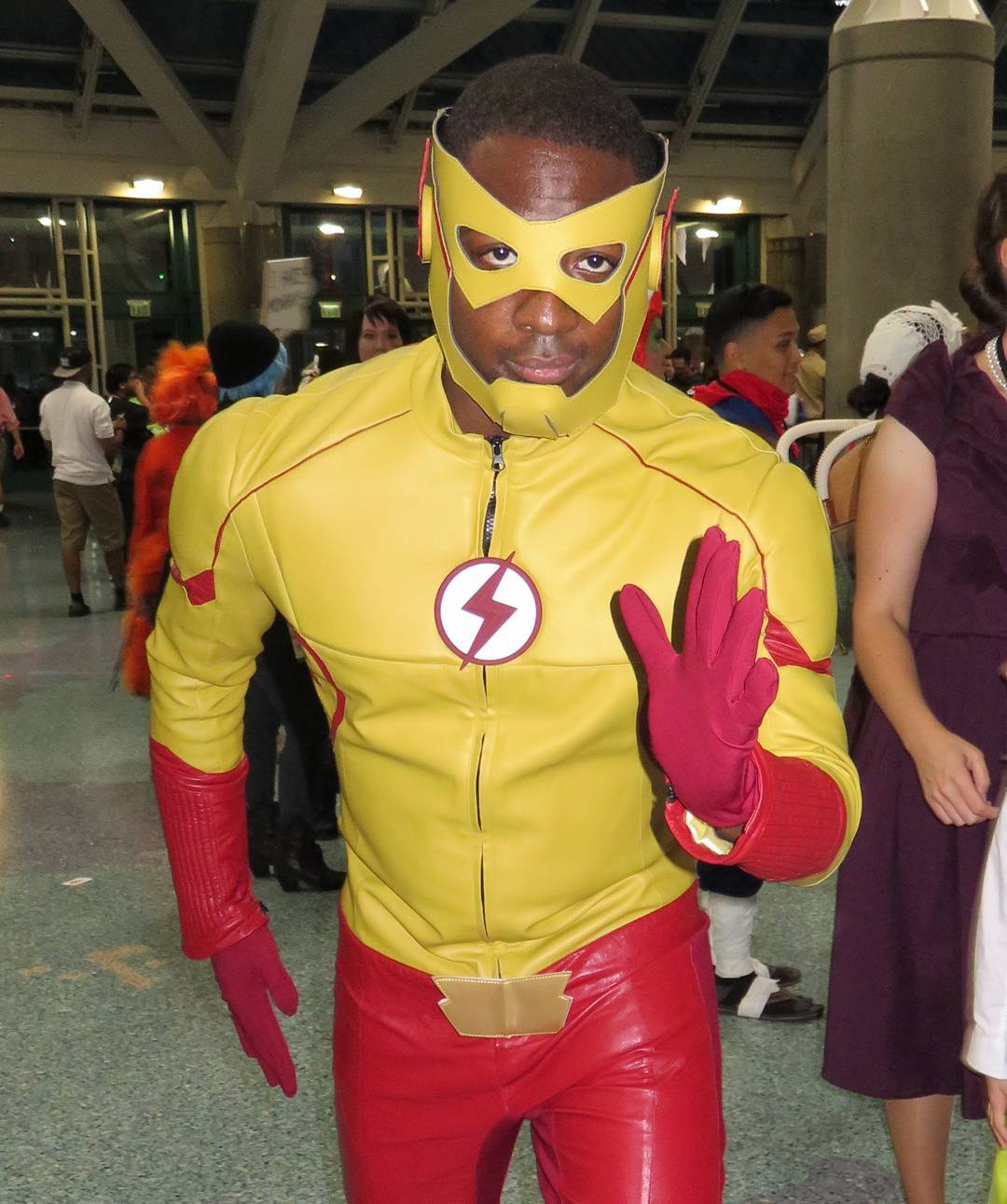 TV-style Wally West Flash cosplay at. More photos at flickr.com/kelsonv
