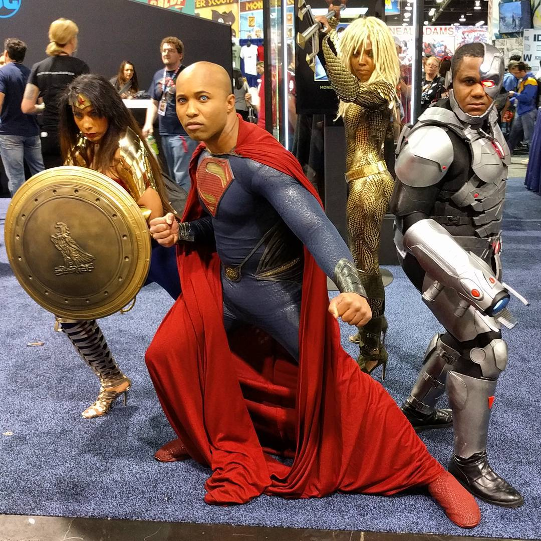 Justice League cosplay at WonderCon