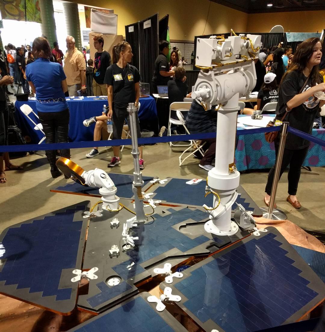 Mars Rover mock-up at
