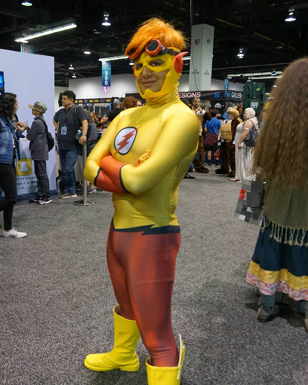 spotted today at @wondercon