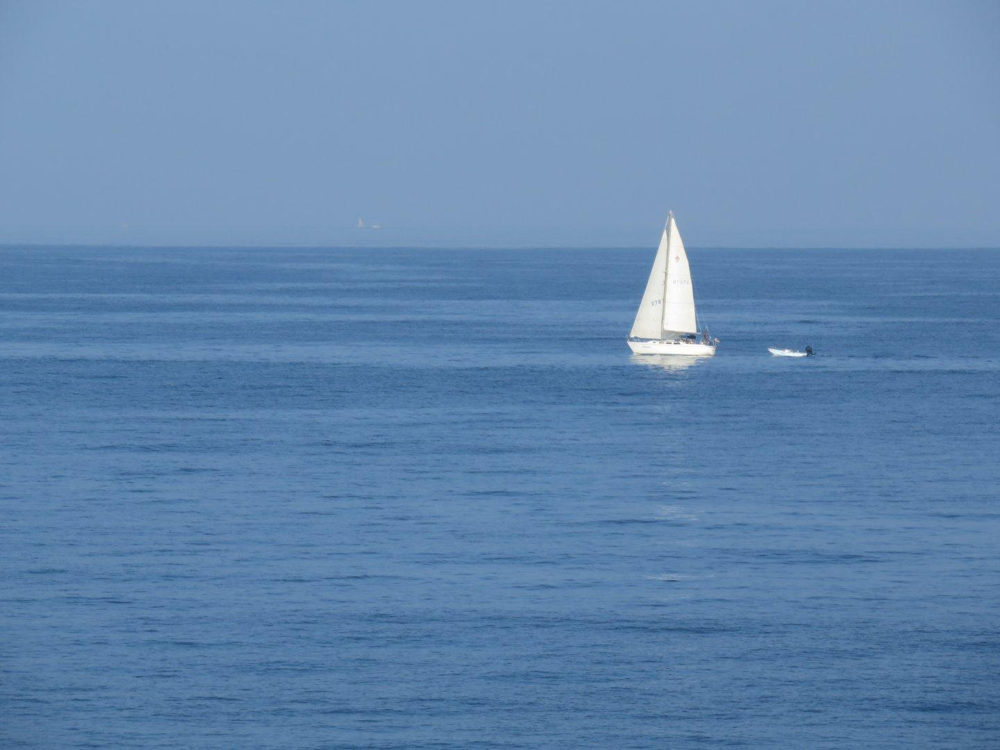 #sailboat on the bay. #ocean