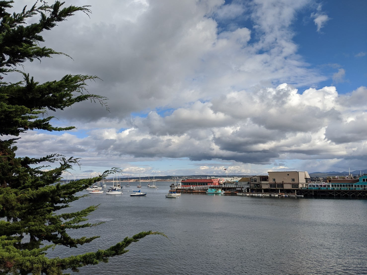 Clouds over Monterey Bay.#photo #MontereyBay #California