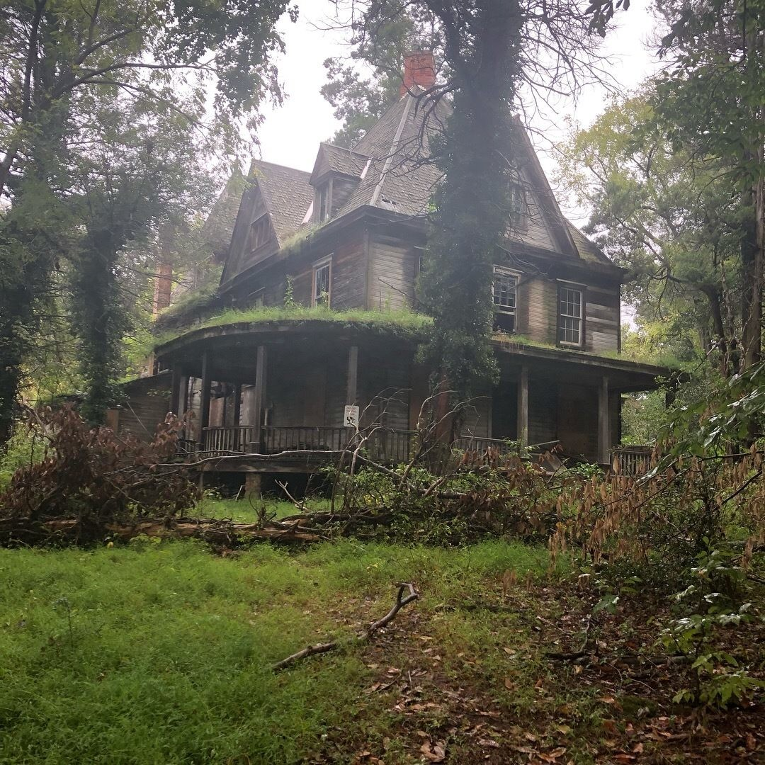 """Winderbourne Mansion """"is currently abandoned and has no plans of restoration. The site is a ..."""