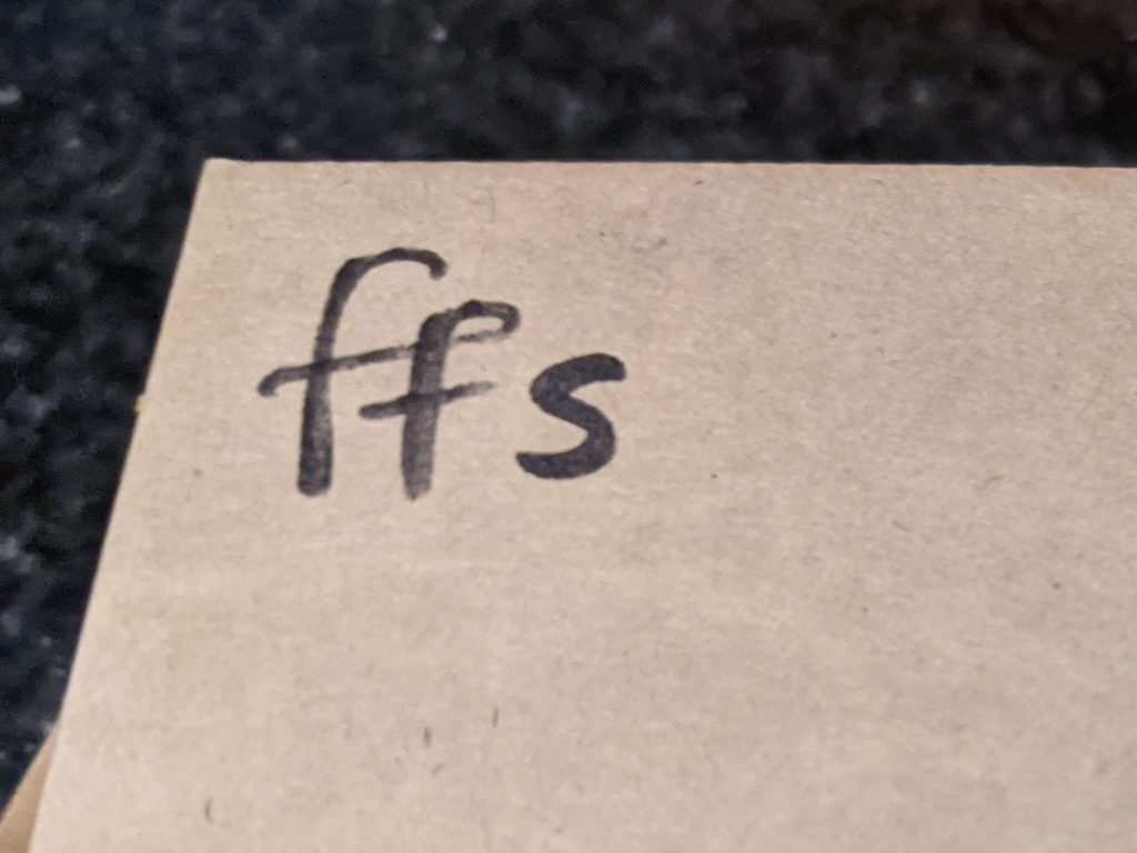 Box labeled FFS